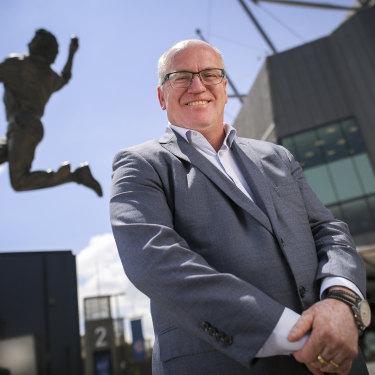 Earl Eddings is chairman of the nine-member Cricket Australia board.