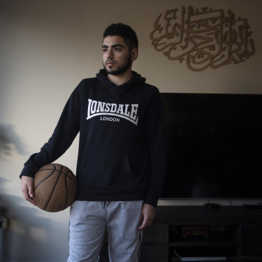 "Zayd Arabiat felt his learning was seriously interrupted, which cast a pall over his HSC year. ""It affected my maths,"" he says. ""It's hard to study on my own."""