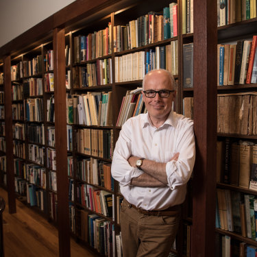 """NSW State Librarian John Vallance: """"The most cost-effective and energy-efficient form of data storage is paper."""""""