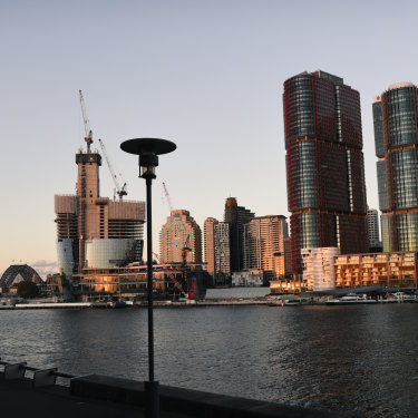 Barangaroo in Sydney is one of Lendlease's biggest projects.