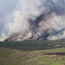 15 firefighters are suffering from heat stress after battling blazes