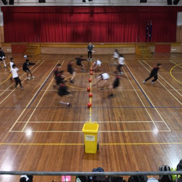 Cherrybrook High School's gym.