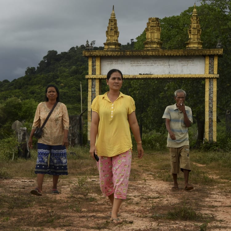 Villagers in Botum Sakor National Park are standing up to pressure from developers.