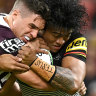 Nathan Cleary the hero as Panthers scrape past improved Broncos