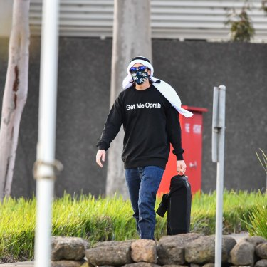 Richard Pusey leaves jail on Wednesday.