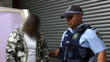 Alleged kingpin Fisayo Oluwafemi is arrested last week.