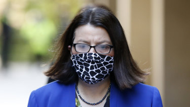Former health minister Jenny Mikakos.