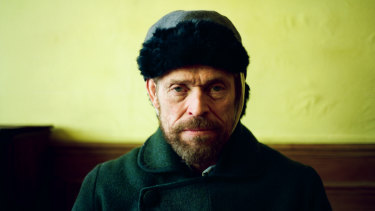 Willem Dafoe as Vincent van Gogh in At Eternity's Gate, in cinemas February 14.