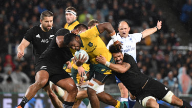 Australia will host the Rugby Championship this year.