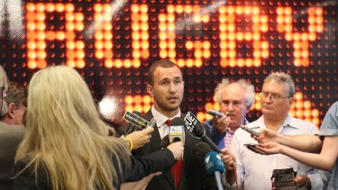 "Quade Cooper speaks after accepting a fine and reprimand for his ""toxic"" comments."