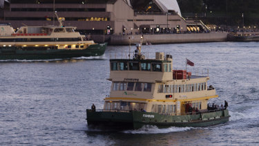The First Fleet ferries entered service on Sydney Harbour in the 1980s.