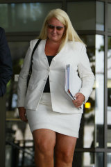 Nicola Gobbo at Melbourne Magistrates Court in 2005