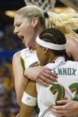 Lauren Jackson playing for the Seattle Storm in 2004.