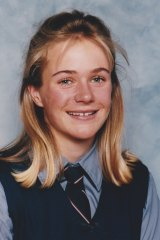 Zali Steggall during her Queenwood School  years.