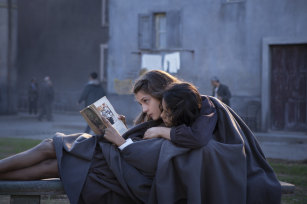 A still from the HBO TV series based on Elena Ferrante's My Brilliant Friend.