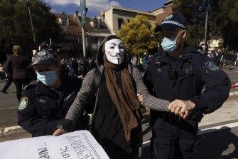 Revealed: The fringe groups where anti-lockdown protest in Sydney began