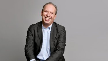 Legendary film composer Hans Zimmer.