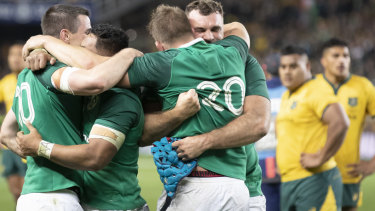 Honest truth: Ireland deserved their series win over the Wallabies.