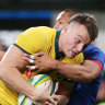 Jack is back: Wallabies looking for more mongrel against Uruguay