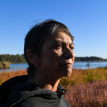 """Yorta Yorta woman Monica Morgan is fighting for her country's """"heartland"""", the Barmah National Park."""