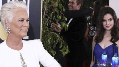 Jamie Lee Curtis slams the Golden Globes Fiji Water Girl