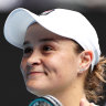 Ash Barty books her place in the fourth round