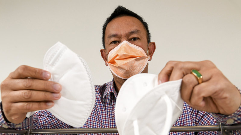 Counterfeit face masks sold to Australian hospitals