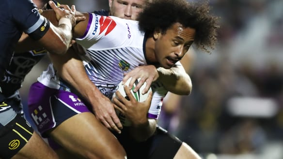 Storm win but cannonball could torpedo Kaufusi's Origin hopes