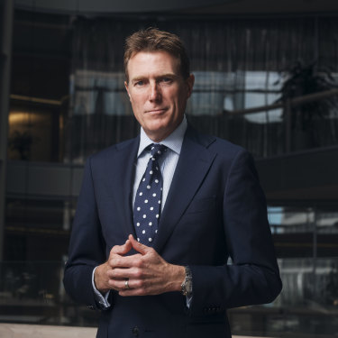 Attorney-General and Industrial Relations Minister Christian Porter.