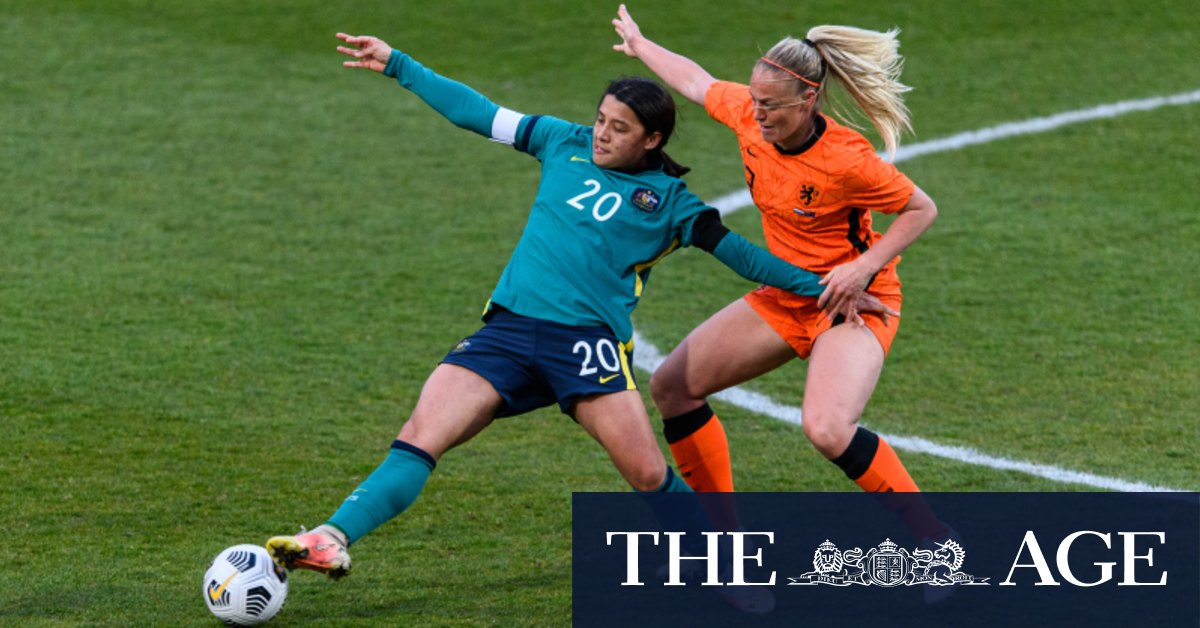 Gustavsson's big Olympic challenge as Matildas hammered again