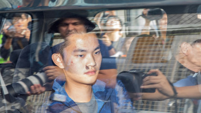 Hong Kong murder suspect leaves jail with pastor amid wrangling