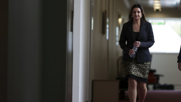 Tasmanian senator Jacqui Lambie has reserved her position on the medevac laws for now.