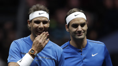 The ATP say Rafael Nadal (left) and Roger Federer have committed to their new teams tournament in Australia.