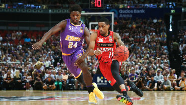 Bryce Cottonstarred for the Wildcats on their smash-and-grab mission to Sydney for the NBL grand final series opener.