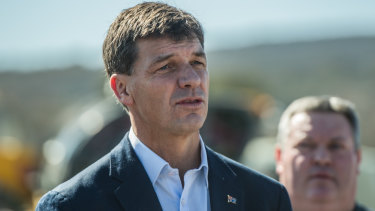 Member for Hume Angus Taylor, who says he has never seen a drought so stressful for farmers.
