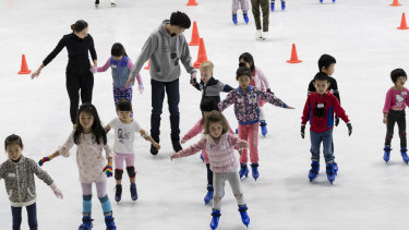 Recognised with an interim heritage order: Macquarie Ice Rink.