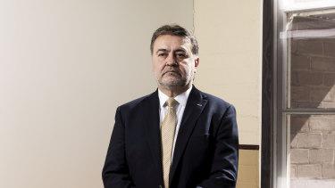 NSW Teachers Federation President Angelo Gavrielatos.
