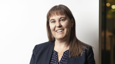 """Bendigo and Adelaide Bank chief executive Marnie Baker: """"The events of 2020 have accelerated the need to change."""""""