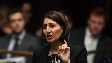 NSW Premier Gladys Berejiklian voted to support the bill to decriminalise abortion.