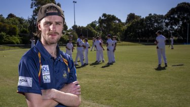 Cricket coach Rhys Upton encouraged mates at his cricket club to speak up about mental health after losing three friends in their early 20s to suicide this year.