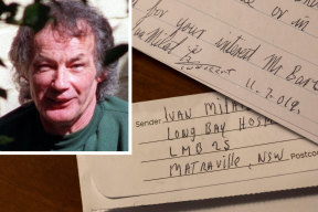 """Serial killer Ivan Milat and a letter claiming he was """"framed""""."""