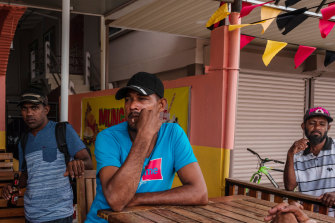 Sugar workers in Skeldon, Guyana, where the closing of cane-processing plants has left thousands unemployed.