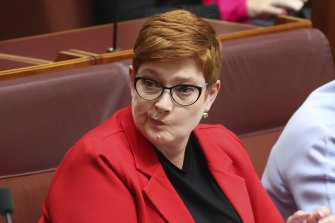 Foreign Minister Marise Payne declined to comment on the rumoured defection on Sunday morning.