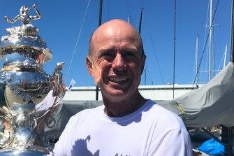 Duncan Hine, skipper of Tasmanian yacht Alive, is hoping for back-to-back Sydney to Hobart victories.