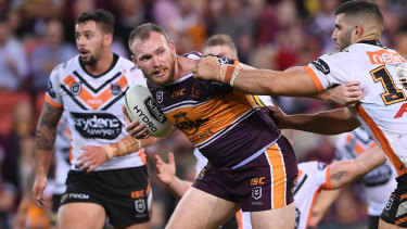 Weighing his options: Matt Lodge is reportedly keen to return to Sydney.