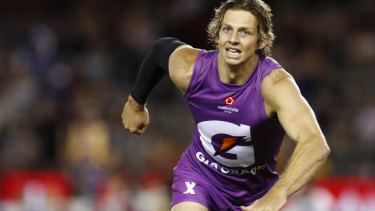 Close second: Nat Fyfe and the Flyers suffered a narrow loss in the decider.