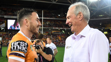 Bennett backs under-siege Boyd as Broncos' finals fallout continues
