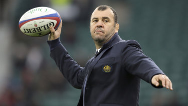 Michael Cheika will return to Australia to face the Rugby Australia board.