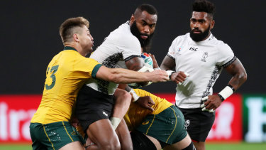 Fiji gave the Wallabies a scare in Sapporo last month.