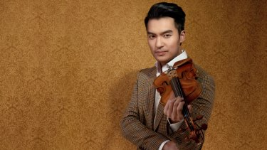 """It's almost like the instrument is another part of his body,"" Queensland Symphony Orchestra's Tim Matthies said of Ray Chen (pictured) ahead of the 2020 season program reveal."